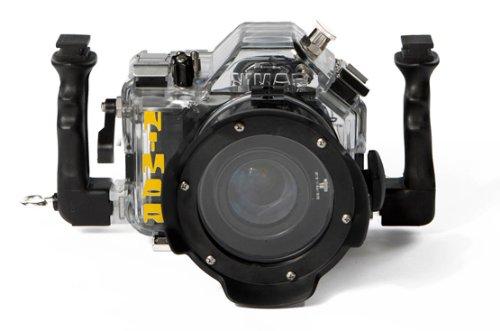 Unterwasser digitalkamera - Pack Canon 1100D Spiegelreflexkamera mit Nimar Unterwassergehäuse für EF-S 18-55 mm f/3.5-5.6 IS und 4Gb SD Karte + Feuchtigkeitsalarm
