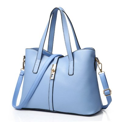 Mefly Nuova Borsa Borsetta Borsa Donna Affascinante Crimson The charm of light blue
