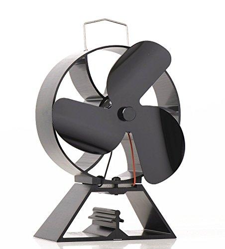 3-blade Ventilador para estufa quemador de madera/registro/fireplace- respetuoso con el medio ambiente...