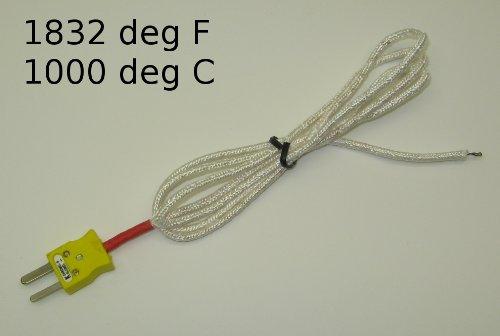 k-type-wire-thermocouple-pk-1000-temperature-sensor-probe-w-high-temperature-fiber-insulation-1832f-