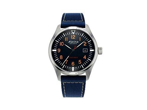Alpina Geneve Startimer Pilot AL-240N4S6 Reloj de Pulsera para hombres Legibilidad Excelente