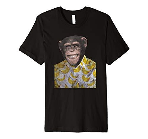 Affe Retro Schimpanse T-Shirt & Design
