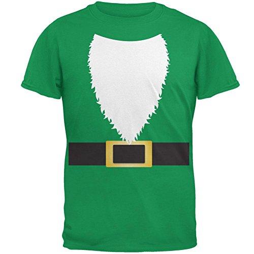 Halloween Rasen Gnome Kostüm grün Herren-T-Shirt Irish Green (Halloween Gnome Lawn Kostüme)