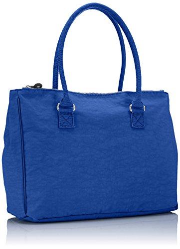 Kipling NEW HALIA K1661985W Damen Schultertaschen 37x29x14 cm Mehrfarbig (Cobalt blue 10J)