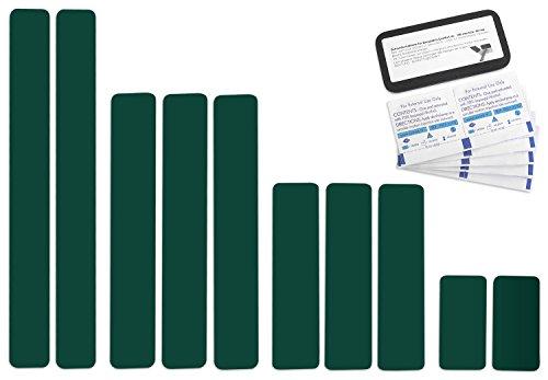 Selbstklebende Planenreparatur Tapes | 10 teilig | Easy Patch Comfort 50mm | Für Zelte, Planen uvm....