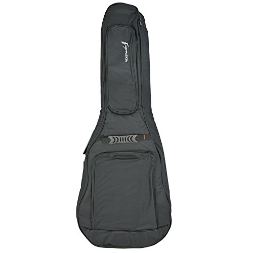 Rocket Music CG44P2BG - Funda para guitarra clásica, color gris