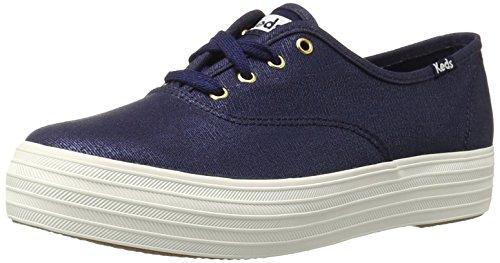 keds-triple-metallic-canvas-zapatillas-de-entrenamiento-para-mujer-azul-navy-39-eu