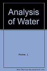 Analysis of Water