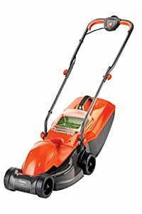 Flymo FVISIMO Visimo Electric Wheeled Rotary Lawn Mower - Orange