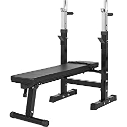 Gorilla Sports GS006 Banc de musculation avec support de barre