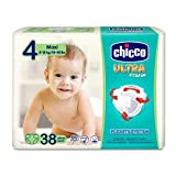 Chicco Chicco Ultra Fit&Fun Lot de 38 couches ultra absorbantes Taille 4 8 - 18 kg (Maxi) 38 couches Maxi 8 - 18 kg 38 unités