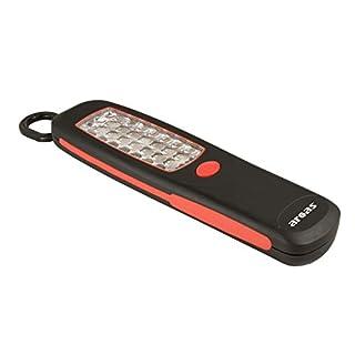 Arcas 30700017 Werkstattleuchte mit 24 LED, Magnet auf Rückseite, ausklappbarer Haken