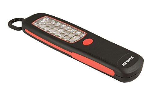 Arcas Werkstattleuchte mit 24 LED, Magnet auf Rückseite, ausklappbarer Haken 307 00017
