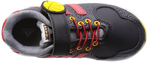 adidas Disney Mickey Unisex-Kinder Outdoor Fitnessschuhe Noir (Core Black/Vivid Red/Super Yellow)