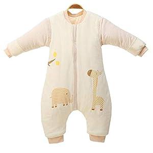 Emmala Saco De Dormir para Niños Casual Chic De Invierno 3.5 TOG Saco De Dormir para Bebé Totalmente Suave Y Cálido con…