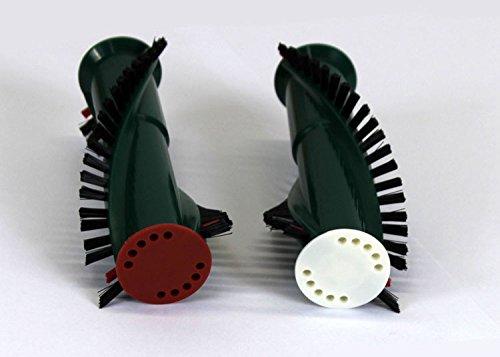 KMR 1 Paar Rundbürsten (Ersatzbürsten) geeignet für Elektroteppichbürste Vorwerk ET 340 / EB350 EMW-Elektro-Media-World, Maxim Bolinger