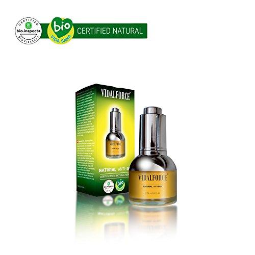 VidalForce Natural Anti DHT Tratamiento para la Caída del Cabello - 30 ml
