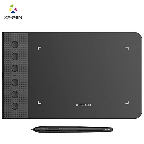 "XP-Pen StarG640S Android Supported Graphics Drawing Tablet Pen Tablet (6""x4"" Size, 6 Shortcut Keys, 8192 Levels of Pressure Sensitivity, Battery Free Stylus and 20 nibs)"