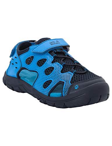 Jack Wolfskin Unisex-Kinder Titicaca VC Low K Sport Sandalen, Blau (Night Blue 1010), 26 EU