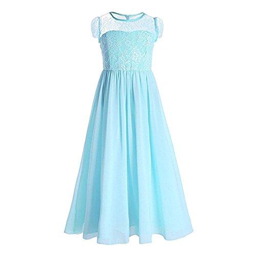 Party Hochzeit Prinzessin Girl Lace Geburtstag Dressessen