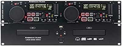 American Audio 1115000007 - Reproductor de CD
