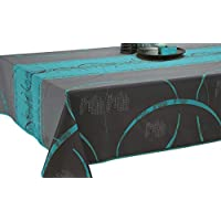 Mantel Antimanchas Astrid turquesa - tamaño : Rectangular 150x200 cm