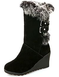 CXQ-Bottes QIN&X Loisirs de la femme de la neige fond épais chaud. Chaussures,41