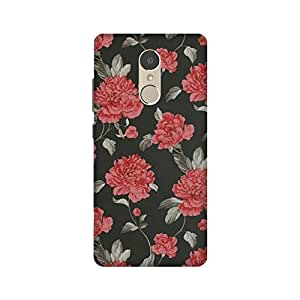 StyleO Lenovo K6 Note Back Cover, Designer Printed Back Cover For Lenovo K6 Note - Red Rose Flowers