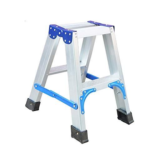 HEMFV Trittleiter Aluminium Klappleiter Multifunktions verdicken Pedal Leiter Schlupf Sicheres Pedal Trittleiter
