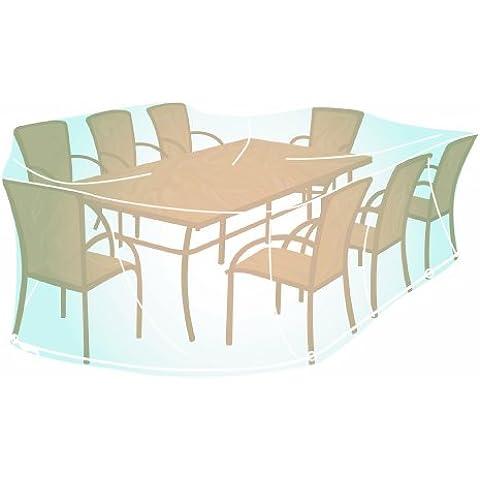 Campingaz 205693 - Funda rectangular tamaño XL para conjunto de mesa y sillas de jardín