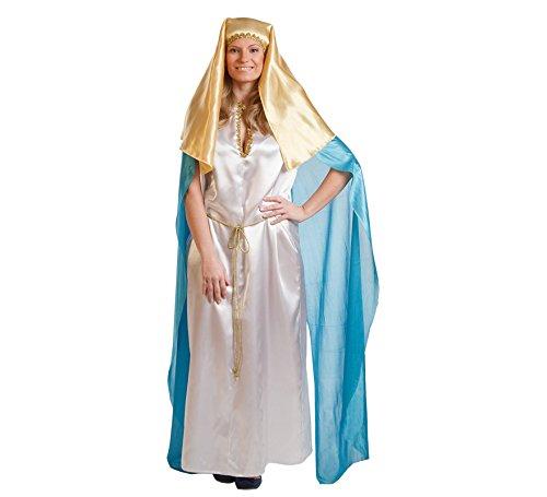 Imagen de disfraz de virgen maría para mujer talla universal m l