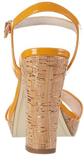 Tamaris 28002, Sandali con Tacco Donna Arancione (Orange Patent 607)