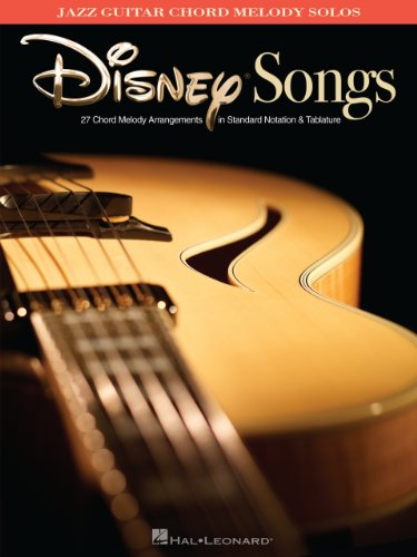 Read e-book online Disney Songs: Jazz Guitar Chord Melody Solos PDF ...