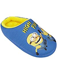 Minions Despicable Me Chicos Pantuflas 2016 Collection - Azul