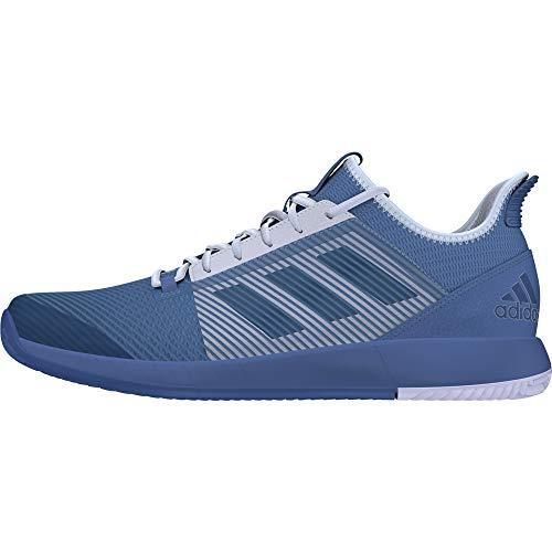adidas Adizero Defiant Bounce 2 Tennischuhe Herren,blau - hellgrau,45 1/3
