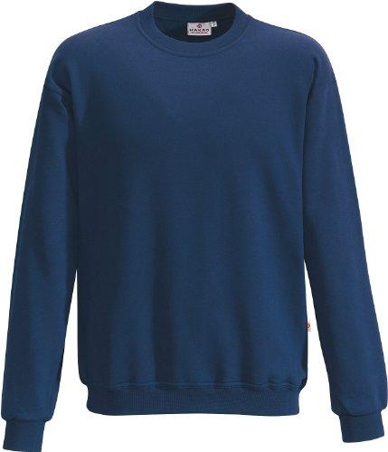 """HAKRO Sweatshirt """"Premium"""" - 471 - marine - Größe: M (Blau-polyester-mischung)"""