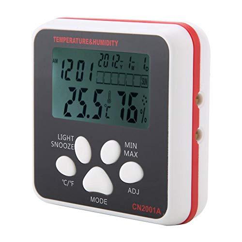 Und Feuchtigkeitsmessgerät, CN2001A LCD Display Digitale Thermometer-Und Feuchtigkeitsmessgerät Home Office Mit -50 50-70 ℃ Luftfeuchtigkeit 10% ~ 99% ()