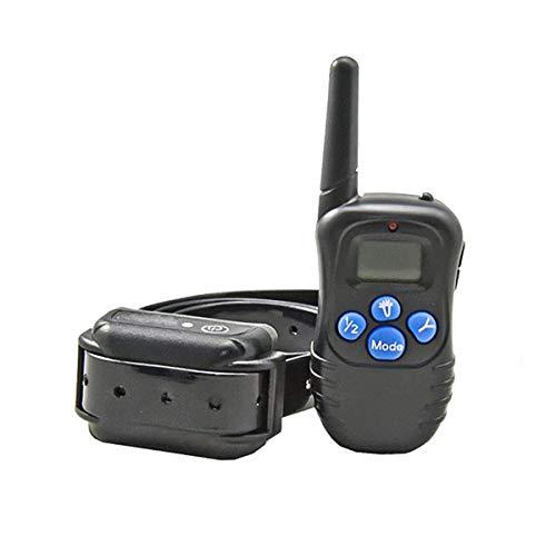 DSLD Wasserdichtes Und Wiederaufladbares Auto-Anti-Bark-Hundetraining-Halsband Mit 100 Stufen, Vibrationssicher Und Grausam Für Das Training Ihrer Hunde