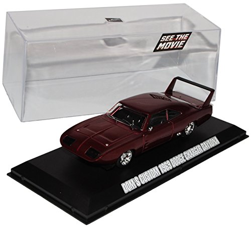Dodge Charger Daytona Fast and Furious 6 Rot Dom´s 1/43 Greenlight Modell Auto