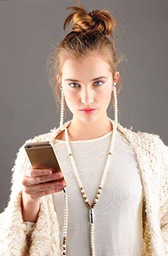 One Fashion Headset In-Ear Kopfhörer Halskette, The White One
