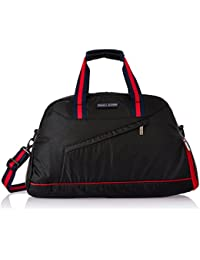 Tommy Hilfiger Polyester 39 Ltrs Black Gym Bag (TH/GLA01GYM)