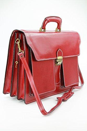 Belli , sac à main femme Rouge