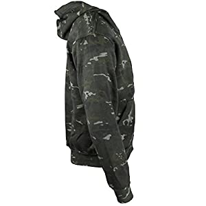 Kombat UK hommes de camouflage à capuche pour homme Fermeture Éclair intégrale