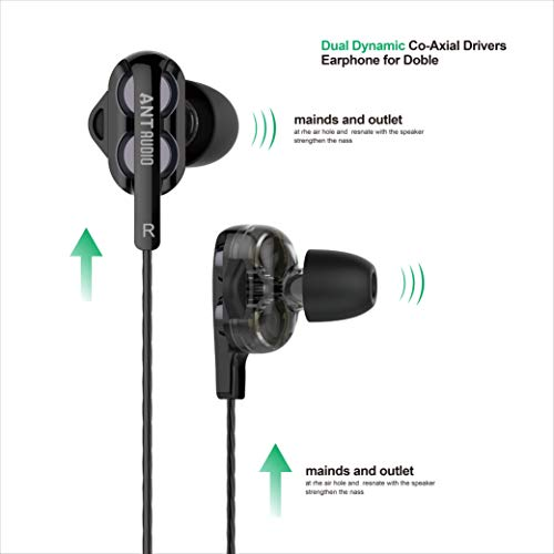 Ant Audio Doble H2 Dual Driver Wireless in-Ear Headset (Black)