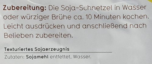 Veganz Soja Schnetzel – 5 x 300g - 4