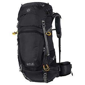 Jack Wolfskin Highland Trail 48 Zaino 74 Cm Nero