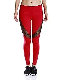 YHHBA pantalons pantalons de yoga serrés secs femmes super mode printemps / été Santé Fitness absorbant la transpiration impression neuf minutes de pantalons sport respirant