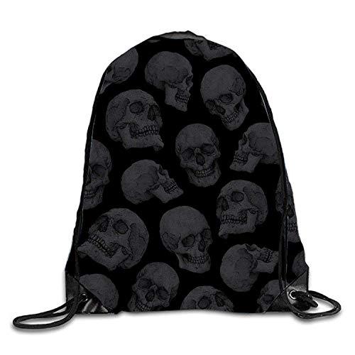 Dhrenvn Floral Design Drawstring Backpack Travel Rucksack Shoulder Bags Fashion Gym Bag - Floral Drawstring Shoulder Bag