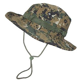 A. Blöchel US Army Outdoor Dschungelhut Rip Stop Boonie Hat Schlapphut in vielen Farben und Größen (M, Digital Woodland)