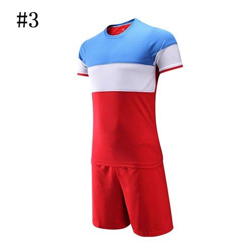 World Cupfactory Direktverkauf neuer Art-Licht-Brett-Fußball-Shirt-Hersteller-Fußball-Jersey-Erwachsen-Kinderkleidung Kundenspezifischer Fußball-Jersey, 8810Blue Weiß-Rot, Asien-Größe S (Kundenspezifischer Kostüm Design)